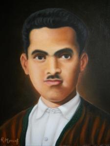 محمد البشروش بريشة الرسا م منصف الرياحي